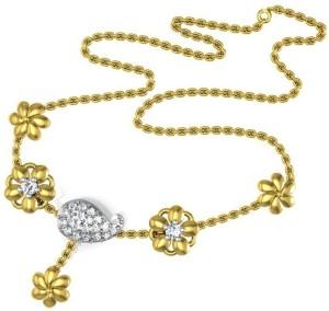 Avsar NECKLACE16A Yellow Gold Precious Necklace