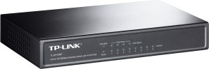 TP-LINK 8-Port 10/100 Mbps Desktop Switch with 4 Port PoE