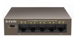 Tenda TE-TEF1105P-4-63W Network Switch