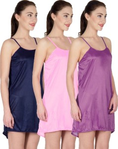 You Forever Women s Nighty Blue Pink Purple Best Price in India ... 93e038d86