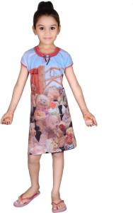 Dreamz Kids Nightwear Girls Graphic Print Cotton Best Price in India ... ab7aa038b