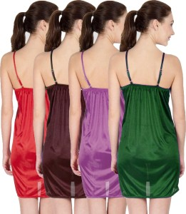You Forever Women s Nighty Green Brown Purple Maroon Best Price in ... 1900c736c