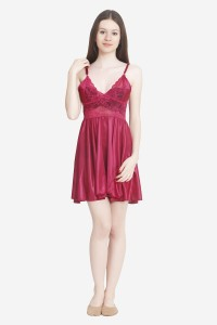 7f988367a6 Keoti Women s Nighty Maroon Best Price in India