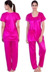 aac5c5284fa Adonia Women s Nighty Pink Best Price in India