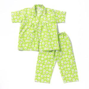 f917ab4c3b BownBee Kids Nightwear Girls Printed Cotton Green Pack of 2 Best ...