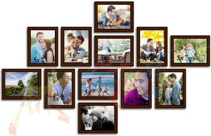 Painting Mantra Generic Photo FrameBrown, 12 Photos