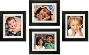 Ajanta Royal Glass Photo Frame Black 4 Photos Best Price In India
