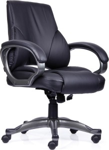Durian Regale Mb Leatherette Office Arm Chair