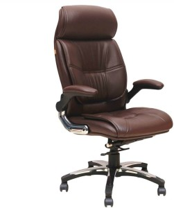 woodstock india lincoln fabric office chair brown brown best price