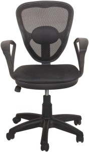 Ks chairs Leatherette Study Arm Chair