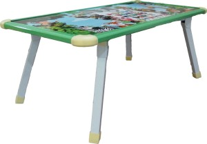 Muren Durable And Portable Printed Kids Use Anywhere Table - Rectangle Solid Wood Study Table