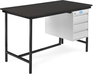 super popular 2b70e e60e0 Nilkamal Zurina Metal Office TableFree Standing, Finish Color - Beech