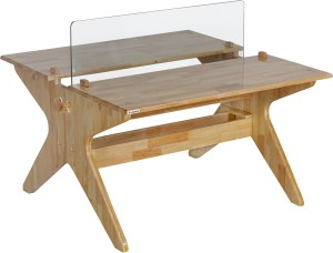 EPL MODULAR Mordern P0001 Solid Wood Office Table