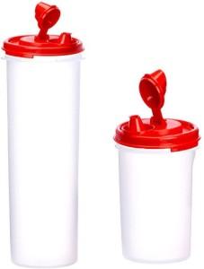 Tupperware 1100 ml, 550 ml Cooking Oil Dispenser Set
