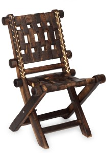 Onlineshoppee Solid Wood Outdoor Chair