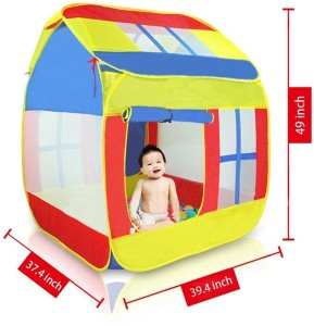 Pigloo Pop up Play Tent House For Kids - Indoor and Outdoor Large Space Play HouseMulticolor  sc 1 st  Buyhatke & Pigloo Pop up Play Tent House For Kids Indoor and Outdoor Large ...