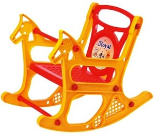 panda attractive colourful branded baby rocking chair with handle
