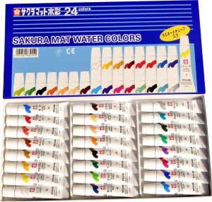 Sakura Water Color Tube