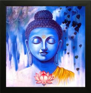 SAF Buddha Ink Painting