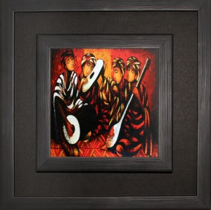 SAF Double Frame With Coating Canvas Painting