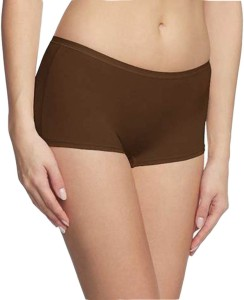 ad3b4f6a9d3 Huggers Women s Boy Short Brown Panty Pack of 1 Best Price in India ...