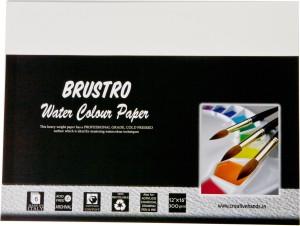 Brustro Watercolor Paper 300 gsm Pack (12