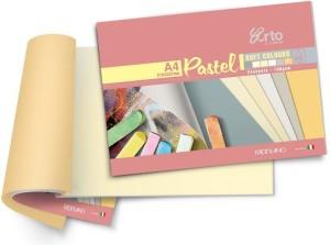 Campap Arto Artist Range of Pastel A4 Coloured Paper