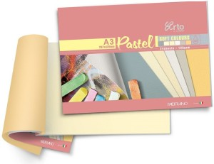 Campap Arto Artist Range of Pastel A3 Coloured Paper