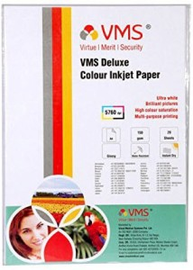 VMS Deluxe Unruled A4 Inkjet Paper