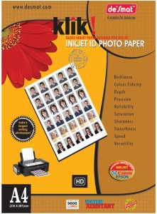 Desmat PhotoGlossy Paper Unruled A4 Photo Paper