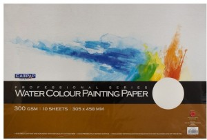 Campap Professional series Cold Pressed Felt marked Surface A3 Watercolor Paper