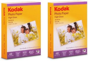 Kodak 20046 High Gloss 4R Inkjet Paper