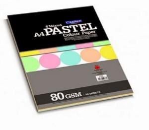Campap Pastel Unruled A4 Multipurpose Paper