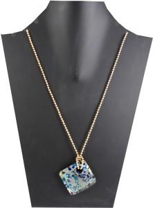 9df7b70321f03 Target Retail Beautiful designer silver foil handmade pendant for girls and  womens Glass Pendant