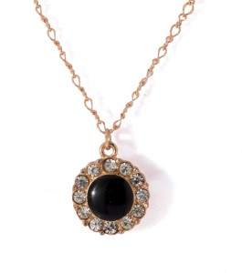 a446e34600e10 Voylla Artificial Classic Plain Rose Gold Cubic Zirconia Alloy Pendant Best  Price in India