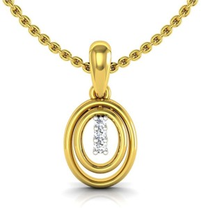 Avsar rajstan diamond yellow gold pendant best price in india avsar rajstan diamond yellow gold pendant aloadofball Image collections
