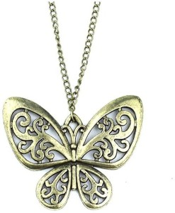 butterfly love bronze shop photo and necklaces locket lockets copper necklace i vintage