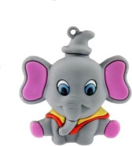 Quace Grey Elephant 8 GB Pen Drive