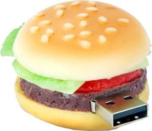 Microware Burger Shape 4 GB Pen Drive