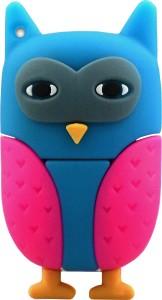 Microware Owl New Multi Colour Shape Designer Fancy Pendrive 16 GB Pen Drive