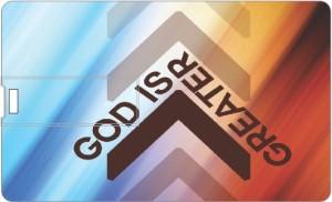 Printland God Is Greater PC86198 8 GB Pen Drive
