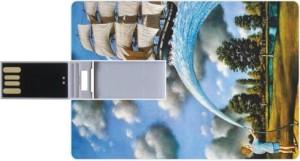 Printland Credit Card Shaped PC82820 8 GB Pen Drive