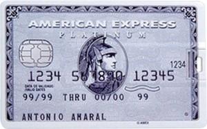 Dreambolic American express silver card 32 GB Pen Drive