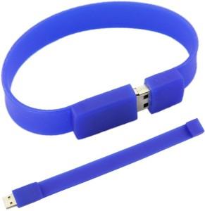 Flintstop Wrist Band USB-8-BL 8 GB Pen Drive