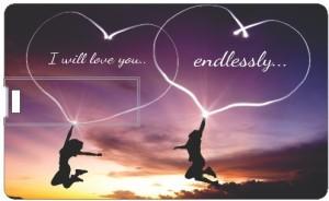 Printland Endless Love PC89484 8 GB Pen Drive