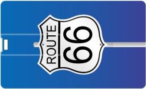 Printland Credit card Route 66 PC80953 8 GB Pen Drive