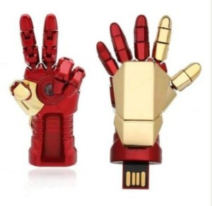 Huppme Iron Man Robotic Palm Pen Drive 8 GB Pen Drive