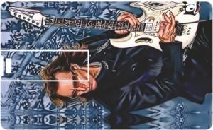 Printland Credit Card Guitar Love PC80687 8 GB Pen Drive