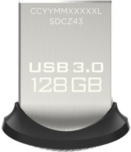 SanDisk Ultra Fit USB 3.0 128 GB Pen Drive