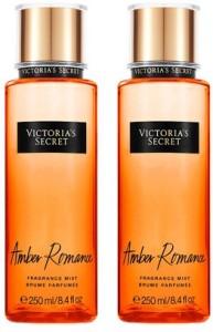 fc04e53af9a Victoria s Secret New! Amber Romance Fragrance Mist-2 pack Eau de Parfum -  500